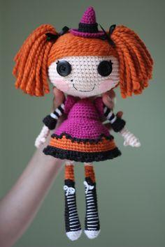 LALALOOPSY Candy Broomsticks Amigurumi Doll by Npantz22.deviantart.com on @deviantART