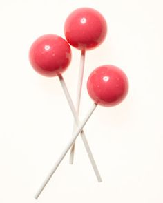 Jawbreaker Lollipops.      The best ones are the cotton candy