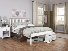 Based on a traditional shaker style, the Grace High White features reeded grooved rebates along the side rails, footend and headend. Room, Home Decor, Room Inspiration, Benson For Beds, Bed, Wooden Bed Frames, Bed Frame, White Bedding, Bedstead