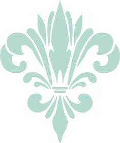 fleur de lis stencils - Bing Images