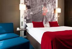 Hotelzimmer Mercure Checkpoint Charlie  Design by Kitzig Interior Design