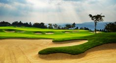 The Jockey Club Kau Sai Chau was the only public golf course in 2009. Three 18-hole courses share breathtaking panoramas of the South China Sea.  http://www.globaltravelerusa.com/island-green/  Photo © Hbh | Dreamstime.com