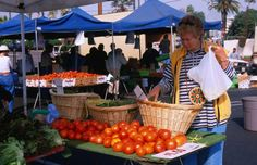Farmers markets be found almost every day of the year throughout San Diego County. Here is your guide to San Diego farmers markets...