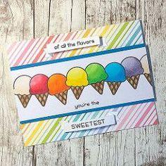 #lawnfawn and #copicmarkers ice cream