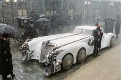 Captain Nemo's car from The League of Extraordinary Gentlemen film (2003) This could be considered steampunk. Description from pinterest.com. I searched for this on bing.com/images
