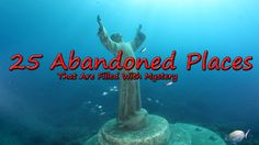 What can be most mysterious than an haunted abandoned Place. Go with us on a mysterious journey of discovering 25 abandoned places in the world, once built b. Places Around The World, Around The Worlds, Top Place, Abandoned Places, Mysterious, Mystery, Beautiful Places, Journey, Videos