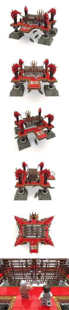 Iron Builder Arena #LEGO