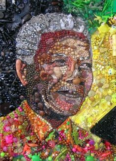 Nelson Mandela by Jane Perkins