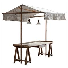 Garden Work Table with Surround France, 1920 Obsolete