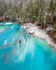 Natural Bridge // Yoho National Park Canada