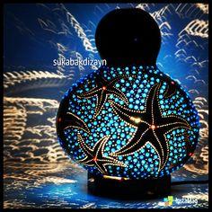 Yıldız desenli su kabağı