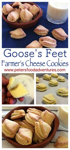 Easy and delicious Farmers Cheese Cookies, made with Tvorog or Quark ...