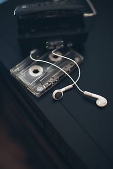 Walkman and cassettes by Zoran Djekic for Stocksy United aesthetic Iphone Wallpaper Music, Musik Wallpaper, Dark Wallpaper, Music Aesthetic, Aesthetic Vintage, Aesthetic Photo, Aesthetic Pastel Wallpaper, Aesthetic Wallpapers, Look 80s