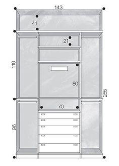 Closet Layout Diy New Ideas Bedroom Closet Design, Bedroom Wardrobe, Wardrobe Closet, Wardrobe Design, Closet Designs, Master Closet, Closet Space, Walk In Closet, Closet Storage