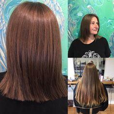 Chestnut Brown Hair, Big Chop, Layered Hair, Healthy Hair, Instagram Posts, Healthy Hair Tips, Brunette Hair, Graduated Hair, Auburn Hair