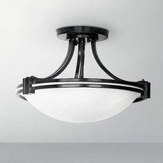 Possini Euro Oil Rubbed Bronze Ceiling Light Fixture