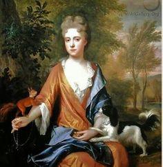 Marie Antoinette loved Papillons♡