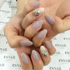 Photo from esnail_japan Es Nails, Nude Nails, Cool Instagram, Top Nail, Gel Nail Designs, Beauty Bar, Nail Colors, Nail Polish, Manicures