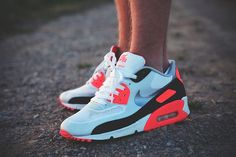 sweetsoles:  Nike Air Max 90 Hyperfuse 'Infrared'