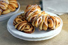 Two of a Kind | Cinnamon Roll Bear Claws | http://www.twoofakindcooks.com