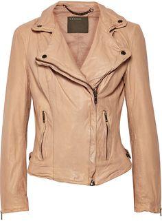 Muu Baa Muubaa Monteria leather biker jacket on shopstyle.com