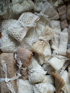 'vintage lace bundles' from paperdolly's photostream on flickr