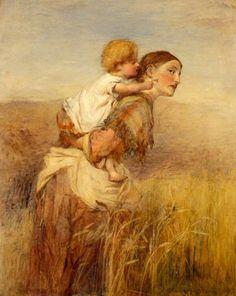 "Sir William Quiller Orchardson""Through the Corn"""