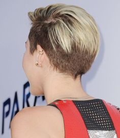Can't stand Miley now, but I dig her hair