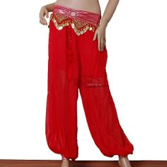 turkish harem pants turkish harem pants Belly dance clothes large bloomers practice pants $11.15