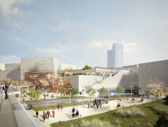 Image 3 of 15 from gallery of MVRDV Reveals Plans to Transform Part-Dieu Shopping Center in Lyon. Photograph by l'autre image