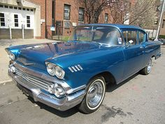 Chevrolet : Impala 58 CHEVY 1958 IMPALA DEL RAY BE - http://www.legendaryfinds.com/chevrolet-impala-58-chevy-1958-impala-del-ray-be/