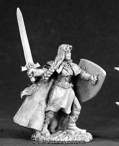Reaper - Dark Heaven Legends -  02459: Ava, Female Templar -  Sandra Garrity