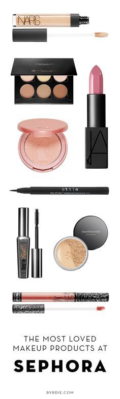 The most-loved Sephora products