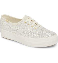 6a751e6b9ebe Free shipping and returns on Keds® for kate spade new york triple decker  glitter sneaker