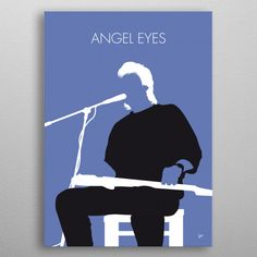 No208 MY Jeff Healey Minimal M... by Chungkong Art | metal posters - Displate Jeff Healey, Angel Eyes, Shower Curtains, Coffee Mugs, Minimal, Tank Tops, Memes, Movie Posters, T Shirt