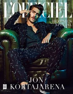Jon Kortajarena Covers L'Officiel Australia Hommes Special Issue