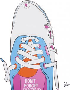 Parra – Don't forget to actually skate in these (2009) Sneaker Posters, Sling Backpack, Sneakers Fashion, Don't Forget, Skate, Backpacks, Bags, Kunst, Handbags