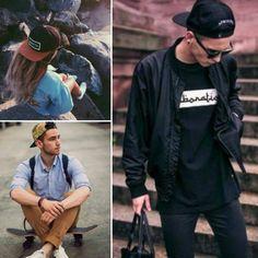O Snapback é um modelo popular de boné mais estruturado e faz a cabeça dos  boys e girls estilo skatistas. Geralmente de aba mais reta 250e97b3a18