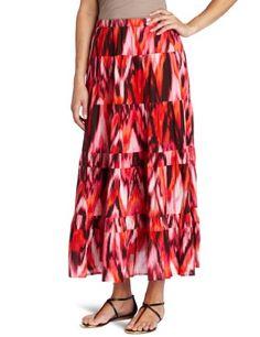 Jones New York Women's Petite Tiered Broomstick Skirt « Clothing Impulse