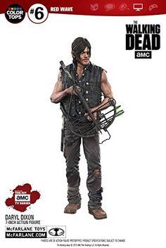 The Walking Dead bewegliche Actionfigur Daryl Dixon (H: 18cm), mit viel Zubehörteilen