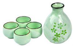 Prachtige Japanse items, zoals theesetjes, maar ook lampen, kamerschermen, noem maar op.