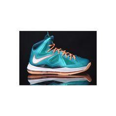 Nike LeBron X Dolphins aka Setting Release Date Atomic Teal Sail Dark Atomic  Teal Total Orange Melon Tint 541100 302 d6fb540d602c