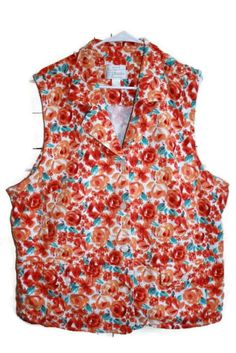 d07bee8de4a C.J Banks By Christopher  amp  Banks Bright Multi color Floral Orange Teal Size  3x