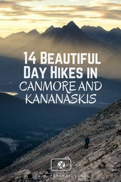 A list of the best hikes around Canmore and Kananaskis Country, Canada, with detailed descriptions, length, elevation changes and much more. An informative post to help hikers choose their next best hike in the Canadian Rockies Alberta Travel, Banff Alberta, Canadian Travel, Canadian Rockies, Beautiful Places To Visit, Places To See, Waterfall Hikes, Visit Canada, Paddleboarding