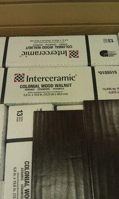 Ceramic tile wood floor. Now that's interesting...