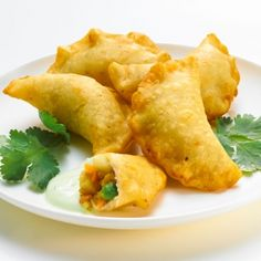 Gluten Free Lentil Samosas (vegan w/o use of egg)
