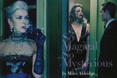 So Magical So Mysterious (Sept 2012 Haute Couture Supplement) (Vogue Italia)