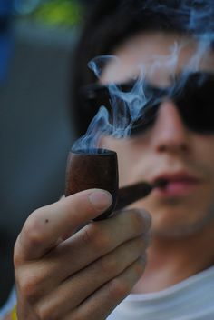 Smoking pipe by Bibentola, via Flickr