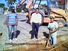 PORTAL DE ITACARAMBI: Prefeito de Itacarambi inspeciona  futura obra de ...