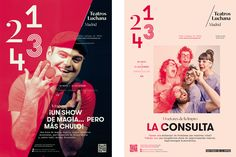 Teatros Luchana Madrid on Behance | by toormix